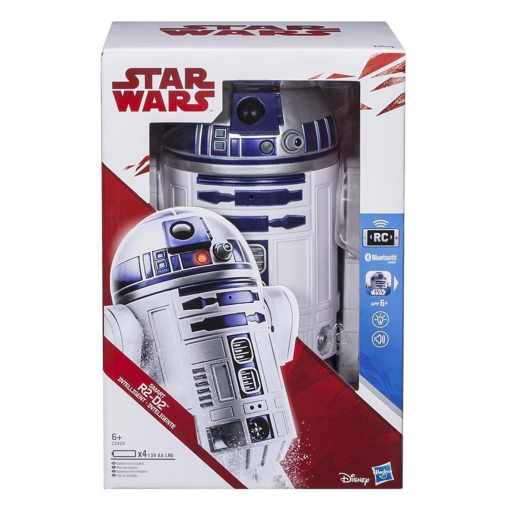 star wars  smart app aktiviert, r2 - d2 - iphone android rc roboter r2d2 hasbro