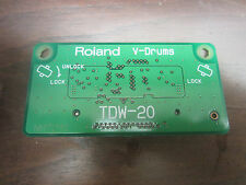 Roland TDW-20 Expansion Card TDW20 TD-20 12 9 Expanded Drum Module Brain V Drum