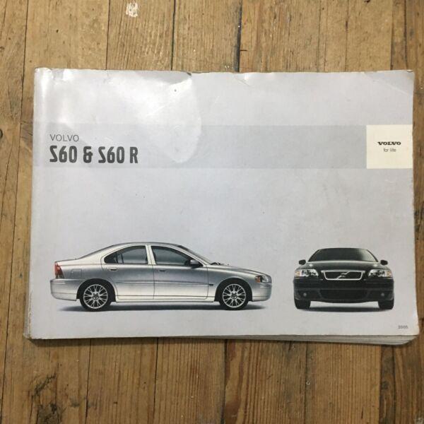 03-09 Volvo S60 S60 R Proprietari Manuale Manuale Di Stampa 2004