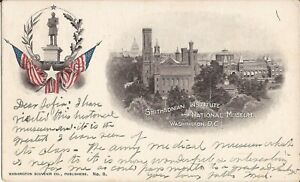 Washington-DC-Smithsonian-Institute-amp-National-Museum-1903-Dupont-Statute