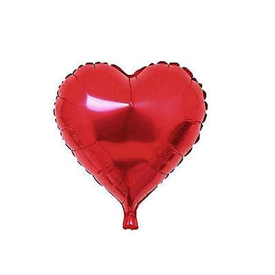 5/10pcs Love Heart Foil Helium Balloons Wedding Party Birthday Home Decor New
