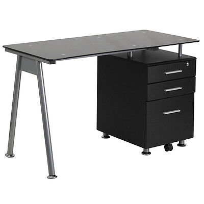 Simple Computer Desk U2013 U201cFlanaganu201d Small Computer Desks 767408942874 | EBay