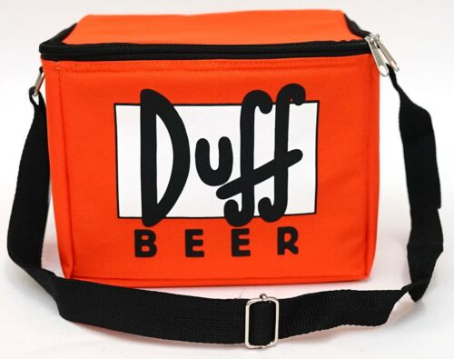 New Universal Studios The Simpsons Duff Beer 6 Pack Insulated Cooler Bag