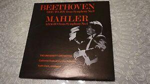 BEETHOVEN-ODE-TO-JOY-NO-9-MAHLER-NO-4-FULLERTON-KEITH-CLARK-LP-NM-EX-RARE