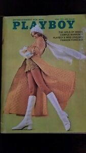 "Vintage April 1970 Playboy issue featuring The Girls of israel""  VG  condition!"