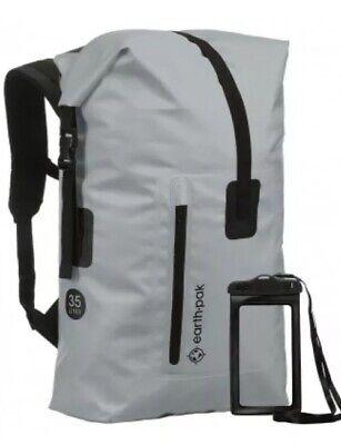 Earth Pak Summit Series Waterproof Backpack Heavy Duty Roll-Top Closure
