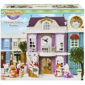 Sylvanian-Families-Elegant-Town-Manor-Town-Series-Calico-Critters-TH-02
