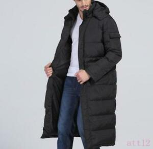 footwear meet hot new products Long Puffer Warm Full Length Hooded New Parka Duck Down ...