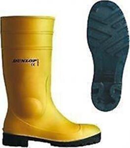 Dunlop Travail Bottes 43 Professionnelle Bottes Bottes En Caoutchouc Baustiefel Bottes Bauschuhe-afficher Le Titre D'origine