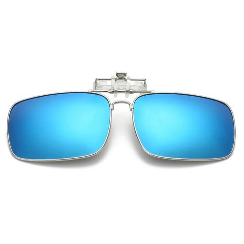 Lunettes de soleil clip on flip up UV400 Conduite Lunettes De Soleil Hommes Femmes Night Vision UK