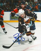 BRYAN LITTLE signed ATLANTA THRASHERS 8X10 photo w/ COA