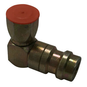 """(5) FJC 2634 A/C High Side 90° Degree 1/4"""" R12 to R134a Retrofit Adapter Fitting"""