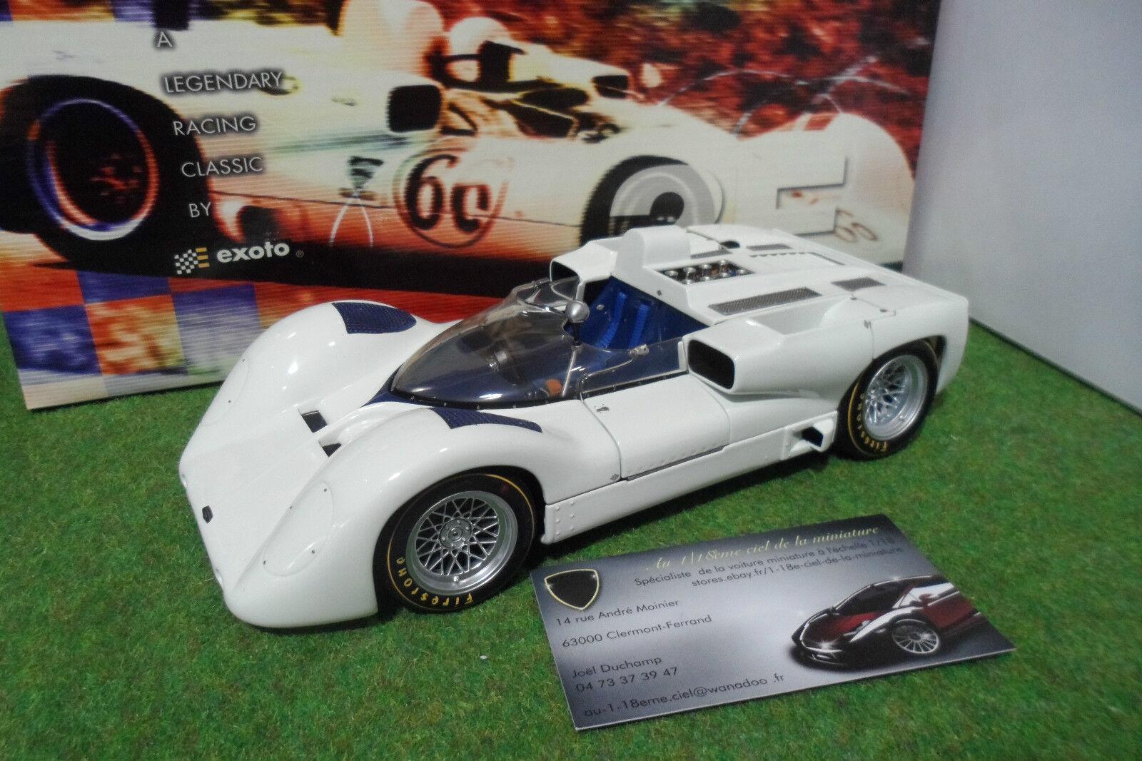 Chaparral Art 2E street white White 1966 can-am zur 1 18 Exoto RLG 18160 Auto