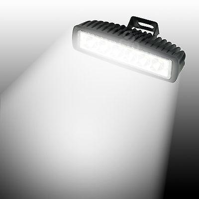 18W LED Work Light Bar Flood ATV 4X4 Off Road Scene Fog Driving 4WD Truck Car
