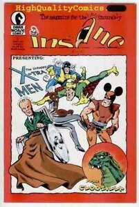 INSANE-1-VF-Clodzilla-1988-DimJack-Mutants-X-Tra-Men-more-indy-in-store