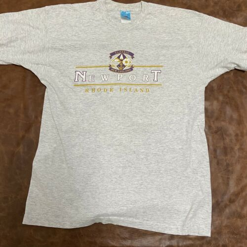 Vintage Single Stitch Newport Rhode Island XL Shir