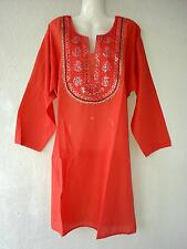 Salwar Kameez Kurti Bluse Kurta Anarkali Indisches Kleid Bollywood Tunika Gr.XXL