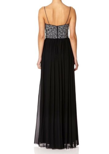 Forever £365 Dress Bodice Embellished Unique Maxi Gown Roisin Bead Rp Bnwt Uk12 TqdH7RwT