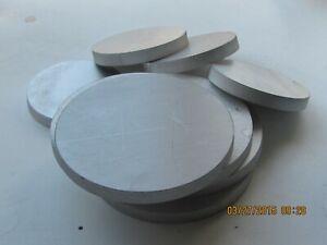 """Aluminum Round Disc 6061 .250 1//4/"""" Thick 4/"""" Dia"""