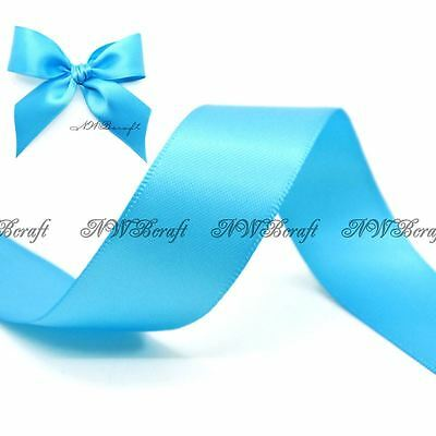 White Double Sided Satin Ribbon 3mm 6mm 10mm 16mm 22mm 28mm 50mm
