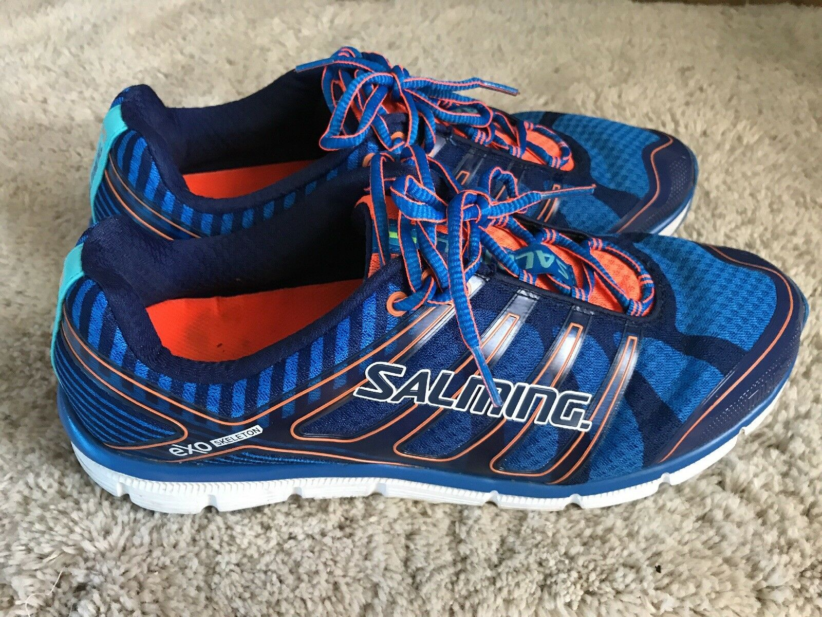 SALMING EXO SKELETON MENS RUNNING SHOES SIZE 12.5
