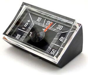 HR-IMOTION-History-Auto-KFZ-Bimetall-Thermometer-Reliefskala-Halter