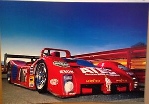 Ferrari F 333 SP IMSA 1984 #002 Extremely Rare Car Poster! Own It!