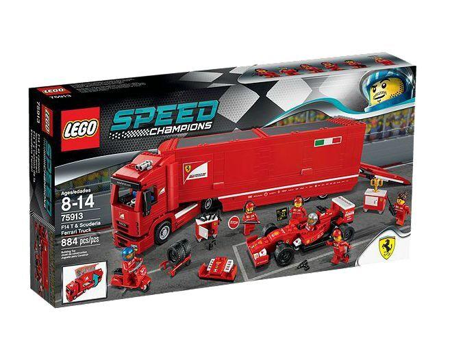 LEGO ® Speed Champions 75913 f14 T & Scuderia Ferrari Camion nouveau neuf dans sa boîte NEW En parfait état, dans sa boîte scellée Boîte d'origine jamais ouverte