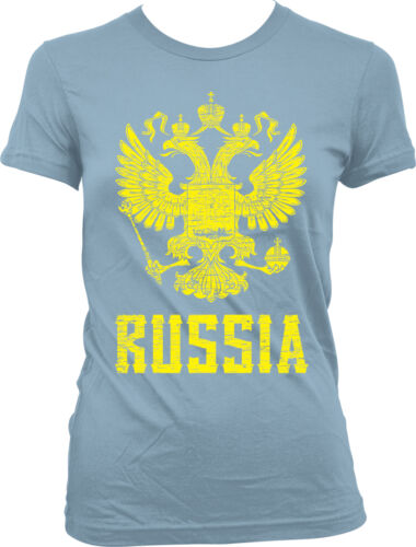 Pride Juniors T-shirt Coat of Arms of the Russian Federation Rossiya ?????