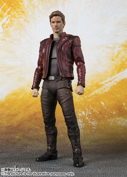Bandai S.H.Figuarts Star Lord (Avengers / Infinity War) Japan version