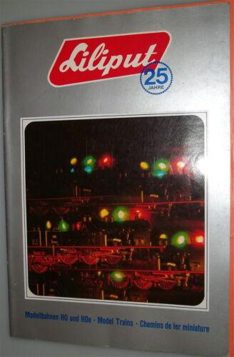 1972 Liliput Katalog