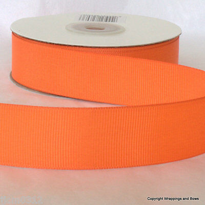 Full 25 metre reel Grosgrain Ribbon 25mm wide **CHOOSE COLOUR**