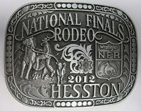 National Finals Rodeo Hesston 2012 Nfr Adult Cowboy Buckle Wrangler Agco