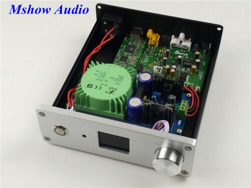 ESS ES9038Q2M ES9038 Q2M HIFI DAC DSD Decoder w// Power supply TFT Amanero USB