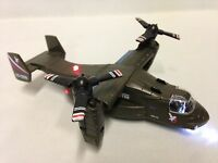 Bell Boeing V-22 Osprey,helicopter, 8 Diecast, Pull Back, Sounds,light, Army Gr