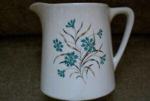 Antique-Floral-034-USA-034-Ceramic-Creamer-Pitcher