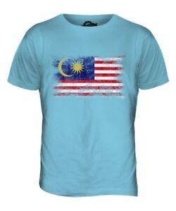 Haut De T Cadeau Hommes Délavé shirt Malaisie Pour Maillot Drapeau Football c4wHCWxqnI