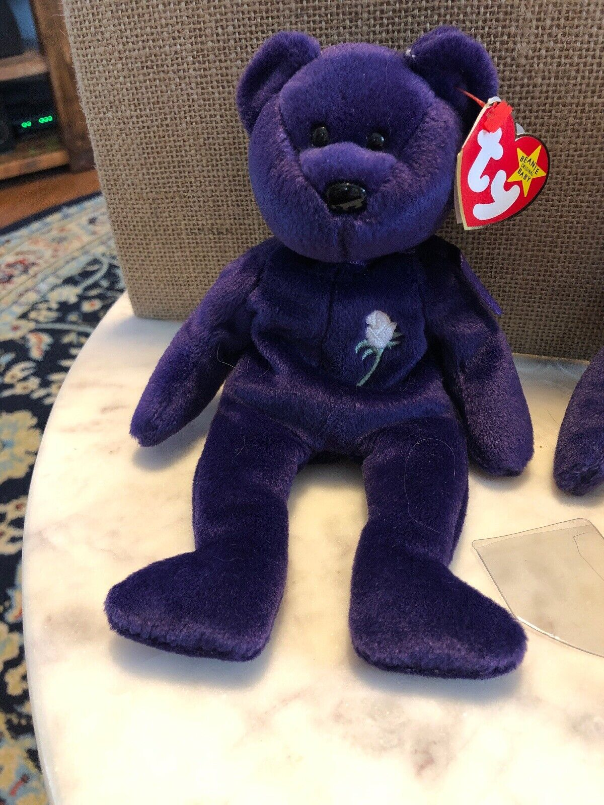 TY TY TY Beanie Babies 1997 1st Edition Princess Diana RARE