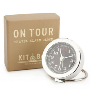 Kitbag-On-Tour-Travel-Alarm-Clock-CGB-Giftware-Boxed-great-for-Fathers-Day-gift