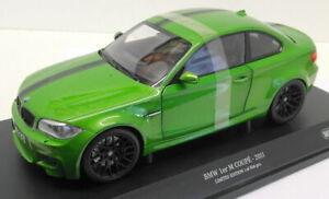 MINICHAMPS 1/18 Scale Diecast - 110 020024 BMW M 1er Coupé Green Mamba
