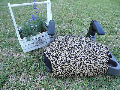 Dynamic Cheetah Print Toddler Booster Seat Cover--booster Seat Not Included Durable Modeling