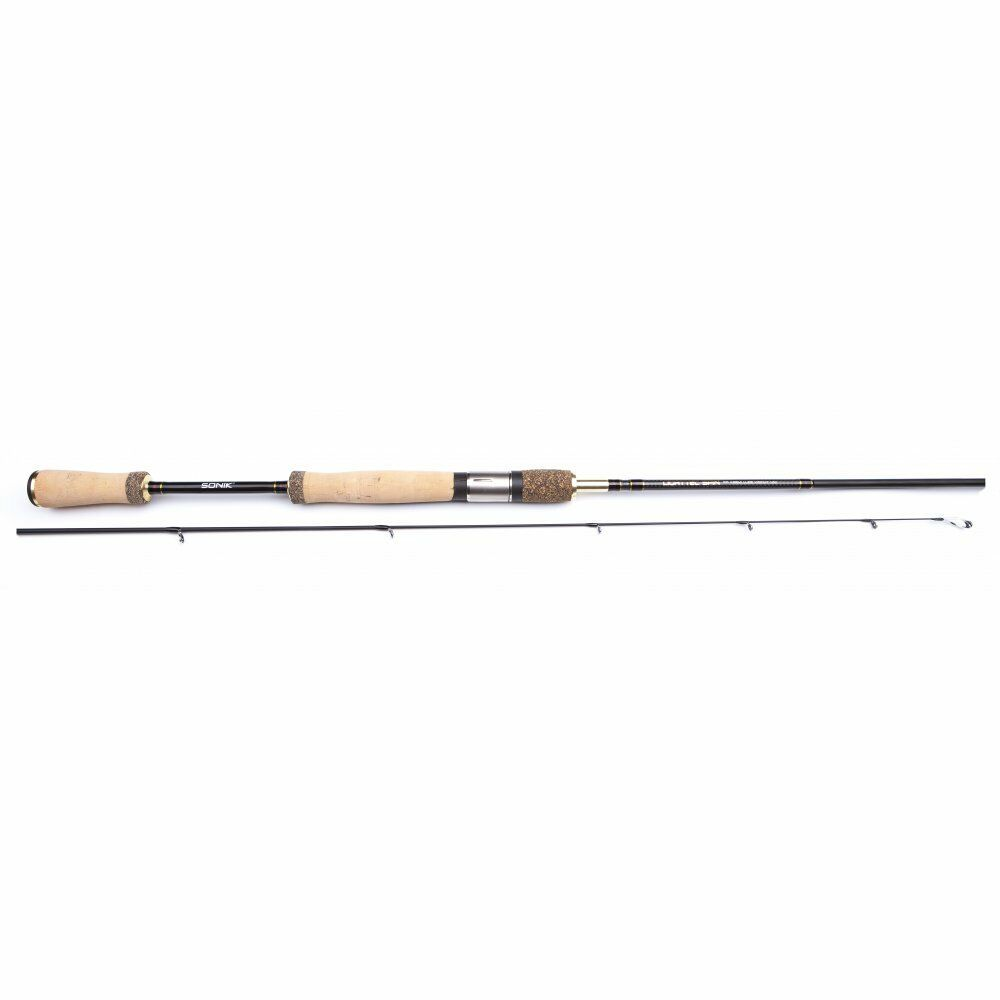 SONIK Light Tec Spin Rod 6'6  2-8g Spinning Lure fishing