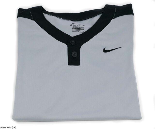 a929edd5206b Men s Nike Stock Baseball Batting Practice Jersey II Gray black Size ...