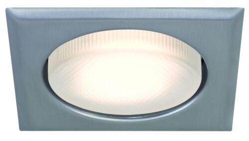 986.34 Paulmann Einbauleuchten Quality EBL Set eckig ESL Disc 3x9W 230V GX53 75m