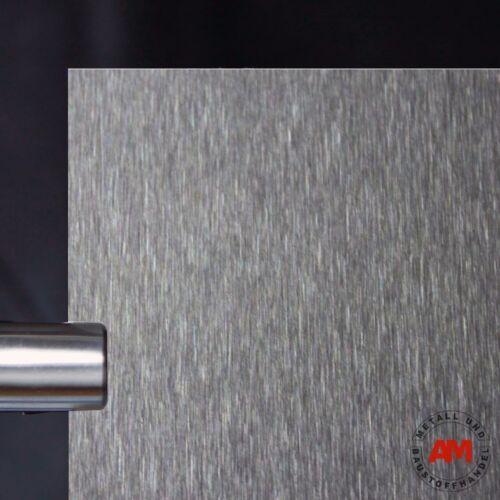 Blech Edelstahl Platte 2000 mm V2A Blech Edelstahlblech 1,0 mm K240 geschliffen