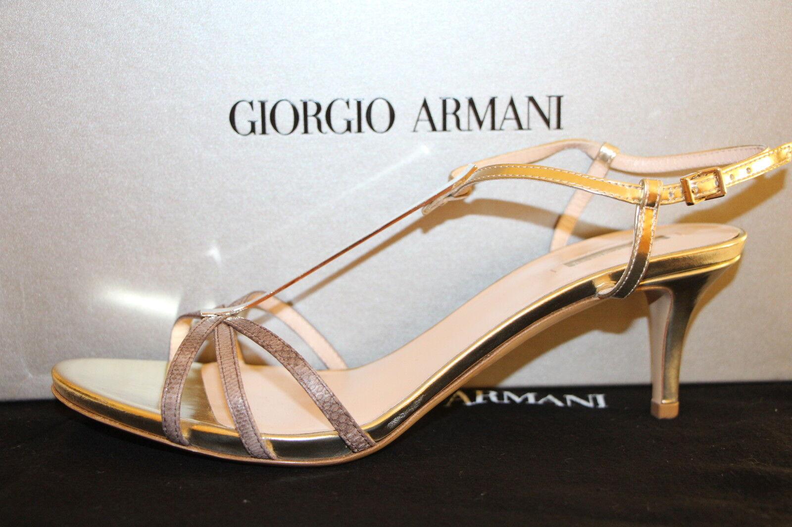 GIORGIO ARMANI DA HerrenANDALEN, 5 Gr. 38 / UK 5 HerrenANDALEN, / US 8, Made in  560f1b