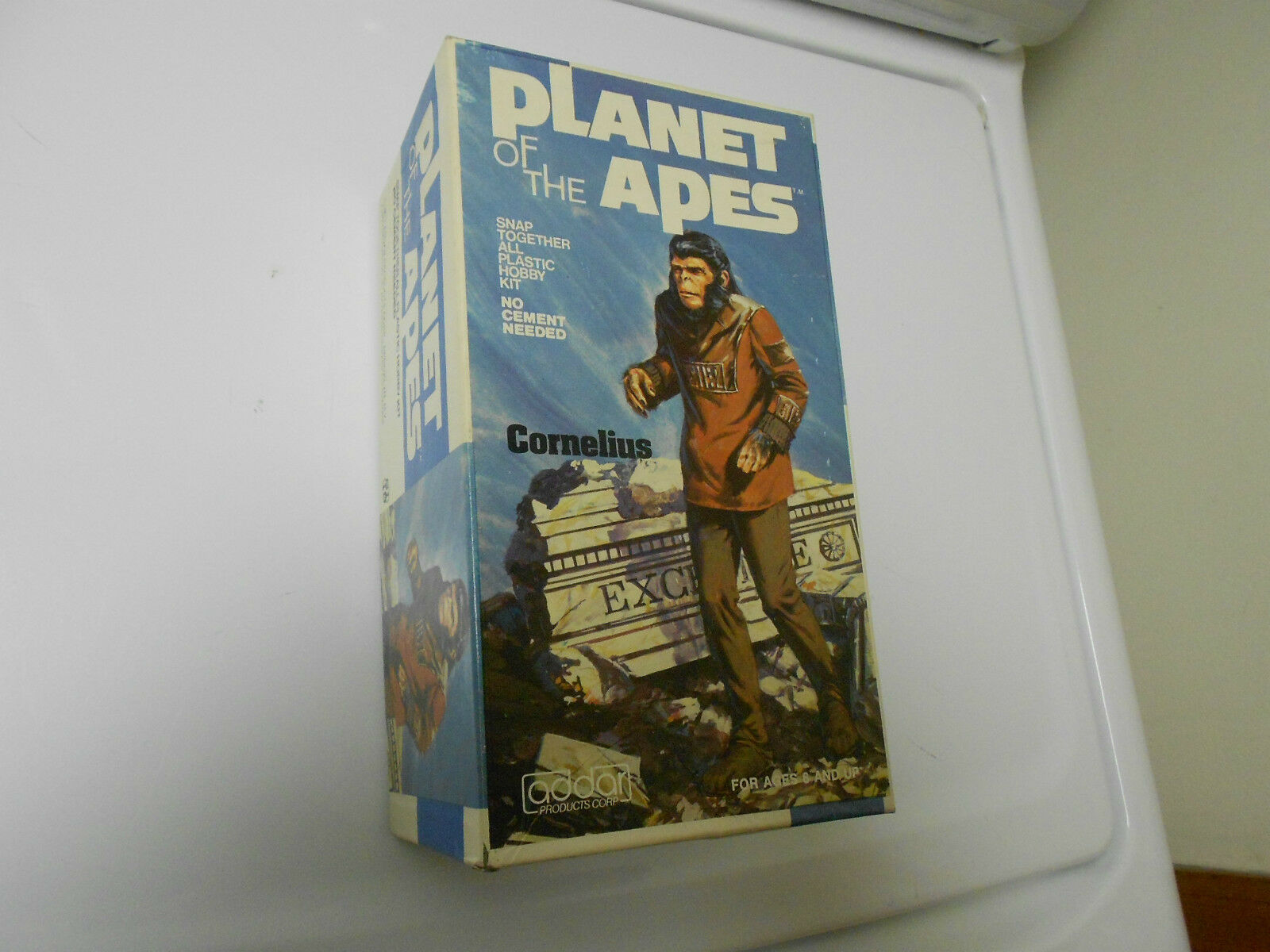 1973 Planet Of The Apes CORNELIUS Plastic Model Hobby KIT ADDAR POTA 101-250