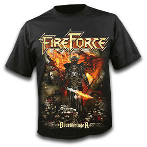 FIREFORCE-Deathbringer-T-Shirt-size-L-NEW-Power-Metal-Mystic-Prophecy