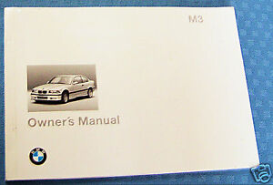 1995 bmw m3 owners manual e36 parts service 3 series new original ebay rh ebay ie bmw m3 owners manual 2015 bmw m3 owners manual 2011