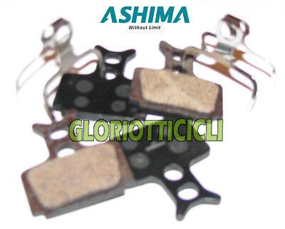 Ashima Set 4 Pastiglie Freno Per Formula Semi Metalliche